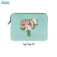"ALL NEW FRAME Rose iPad Pouch 1ea [Lap Top 15""]"